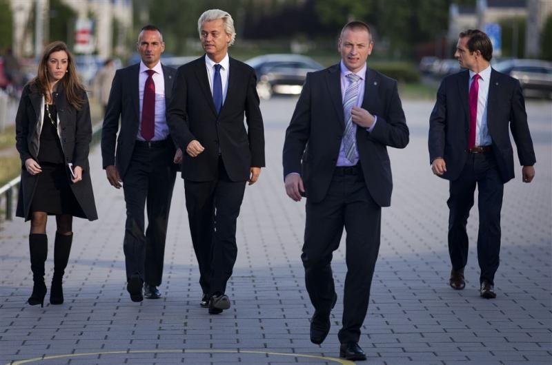 Faris K. loslippig over beveiliging Wilders