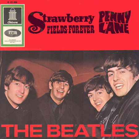 The Beatles - Strawberry Fields Forever (Duitse persing)