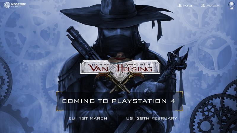 Van Helsing op PS4