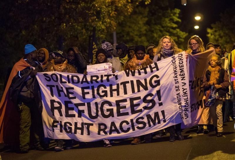 Vluchtelingen Duitsland vaak doelwit geweld