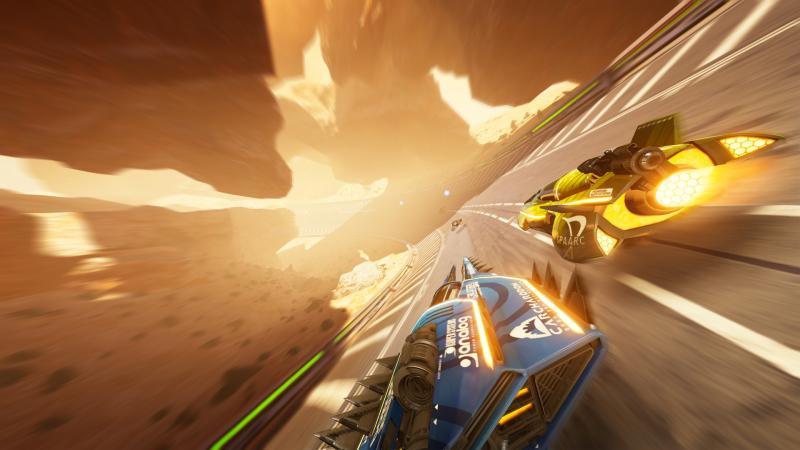 Fast RMX - screenshot schuin