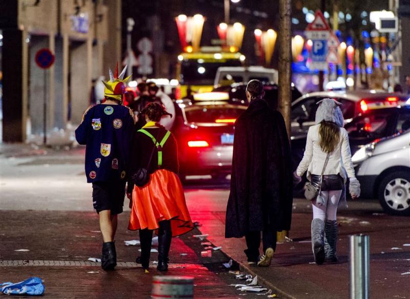 Taxi-staking Tilburg tijdens carnaval