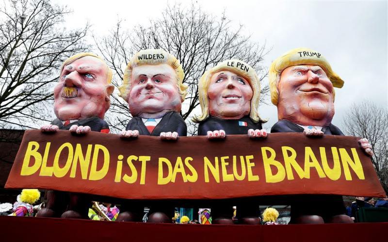 Wilders: boodschap op carnavalswagen 'ziek'
