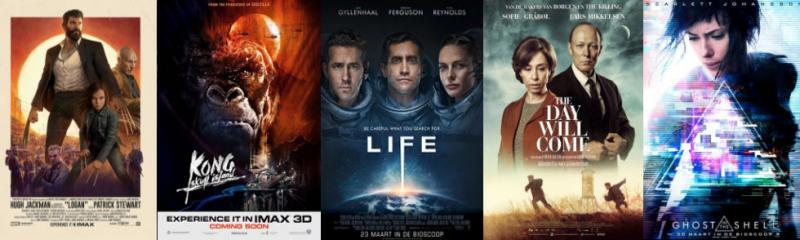 maart in de bioscoop