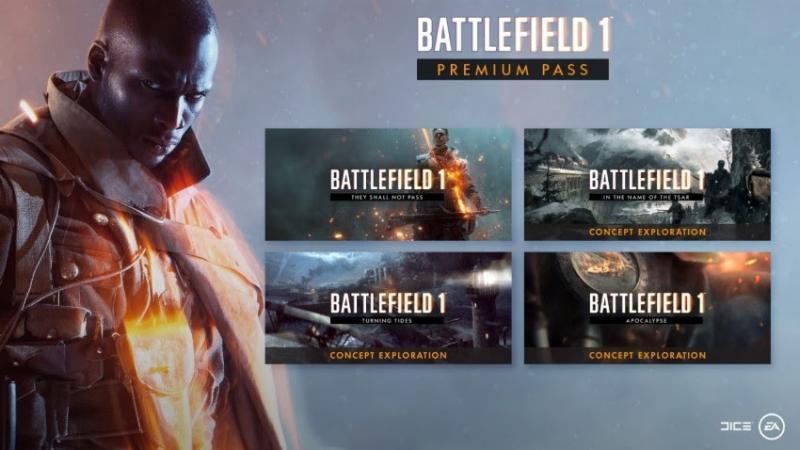 Battlefield 1-uitbreidingen (Foto: EA)