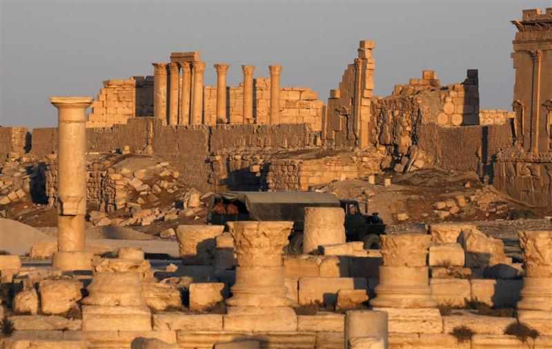 Groot deel Palmyra op IS heroverd