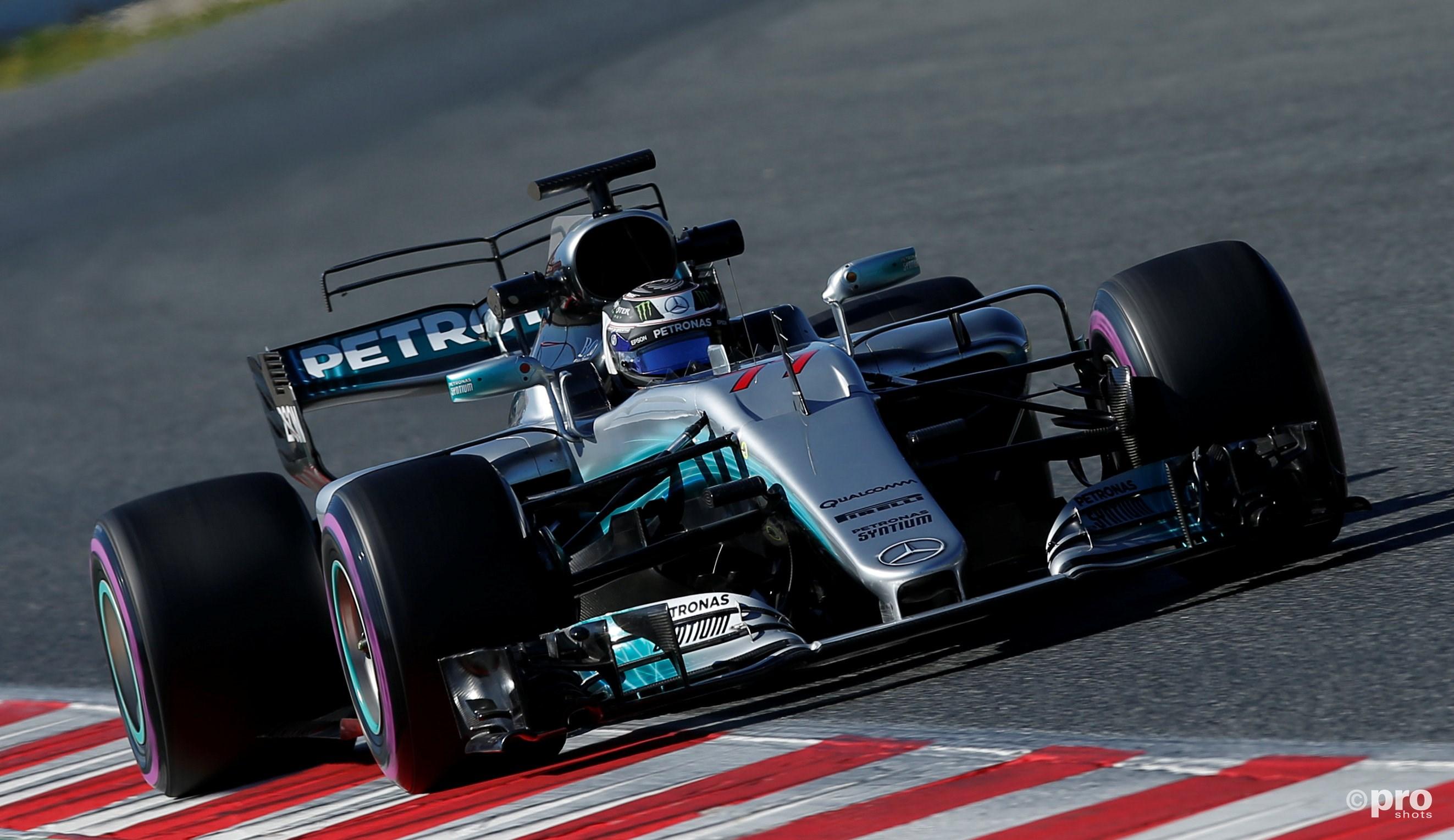 Valtteri Bottas in de nieuwe Mercedes (Pro Shots/Action Images)