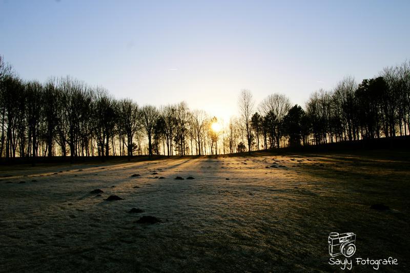 Sneeuw in de buurt van Heerlen (Foto: Luuntje)
