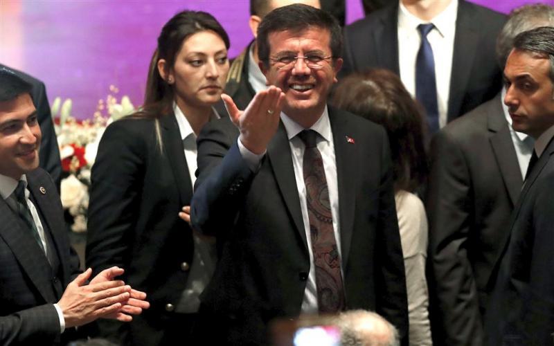 Turkse minister komt om 'plezier te doen'