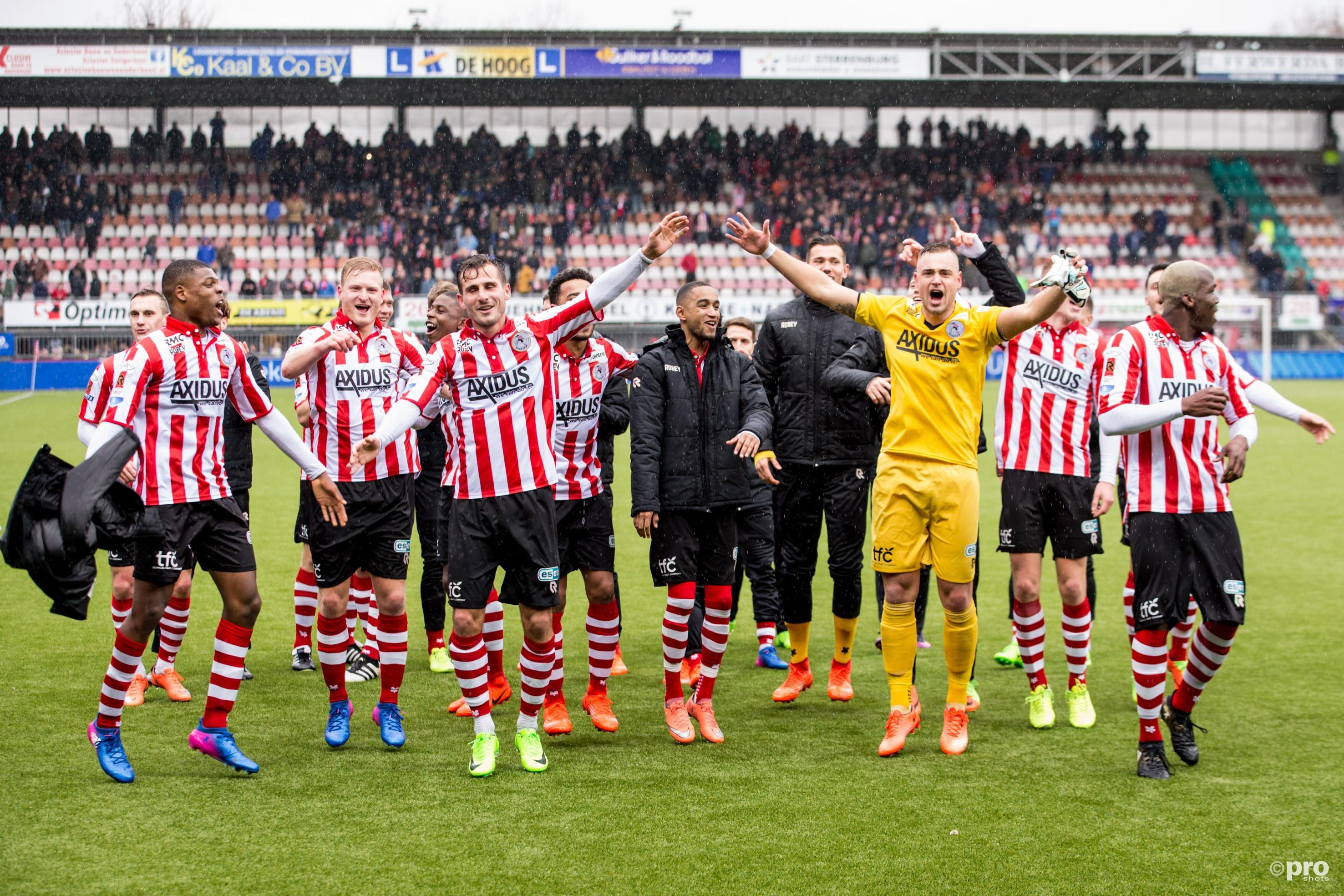 Sparta is de club van Rotterdam. (PRO SHOTS/Erwin Spek)