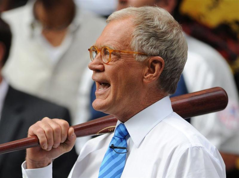 'David Letterman heeft ziektevrees'