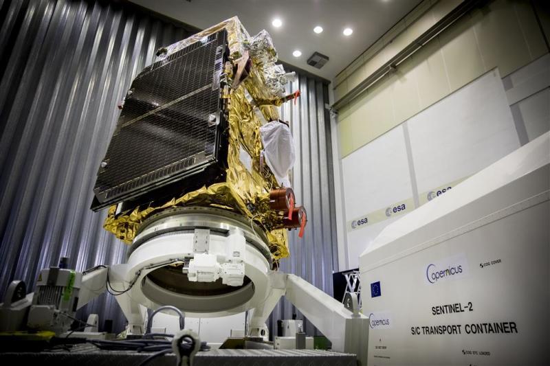 Europa lanceert nieuwe satelliet
