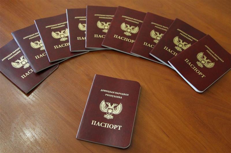 Russische banken weigeren rebellenpaspoort