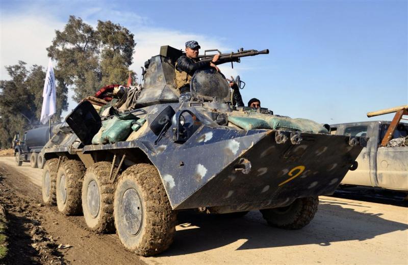 Iraaks leger dringt verder Mosul binnen