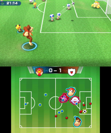 Mario Sports Superstars Voetbal
