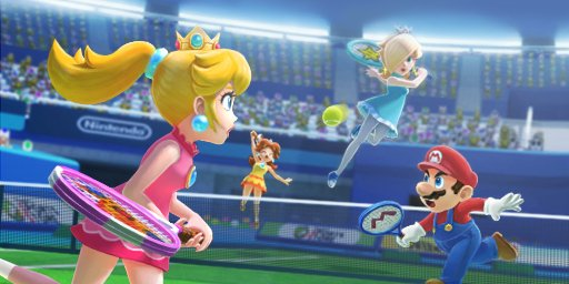 Mario Sports Superstars Tennis