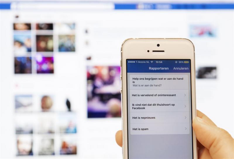 Facebook hoeft zelf geen fakenieuws te zoeken