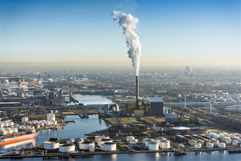 Energiecentrales verbruikten minder steenkool