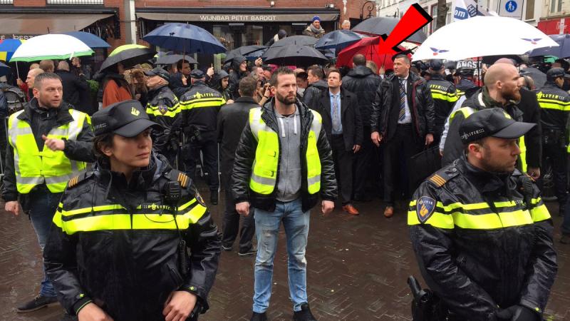 Geert Wilders bezoekt Breda (Foto: Robert Bas)
