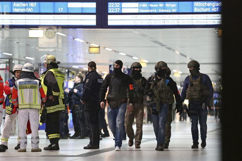 Negen gewonden bijlincident Düsseldorf