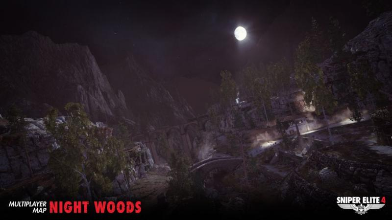 Sniper Elite 4 - Night Woods