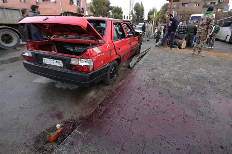 Dodental aanslag Damascus opgelopen