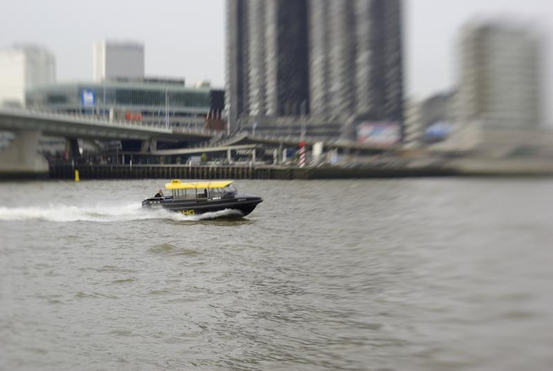 Watertaxi in Rotterdam (Foto: disbatch)