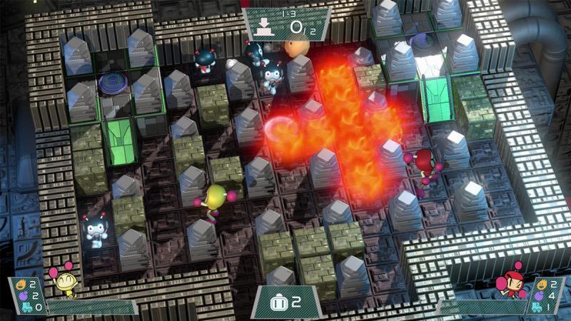 Super Bomberman R Campaign