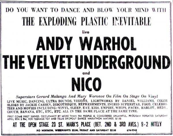 The Exploding Plastic Inevitable