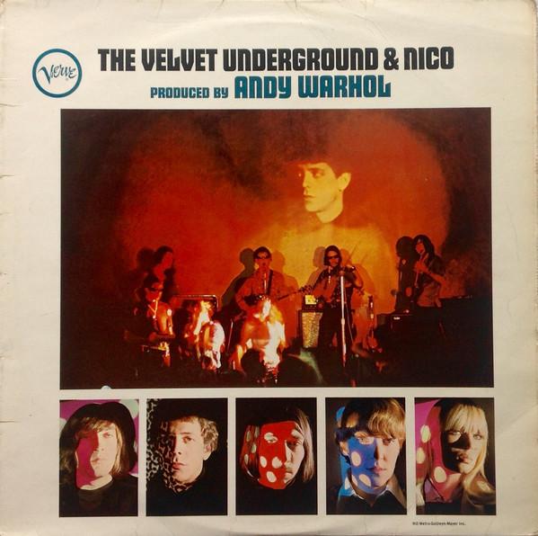 De Britse persing van The Velvet Underground And Nico