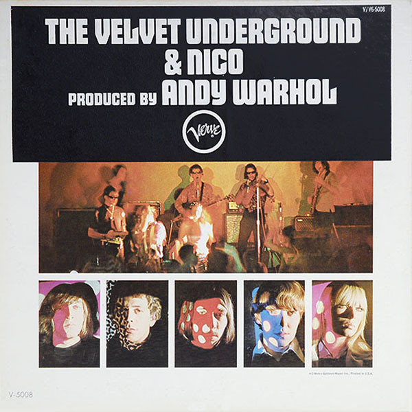 The Velvet Underground And Nico met sticker