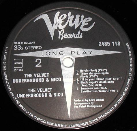 The Velvet Underground And Nico b