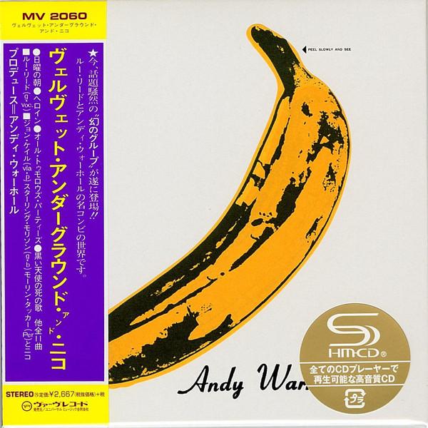 Een Japanse her-uitgave van The Velvet Underground And Nico