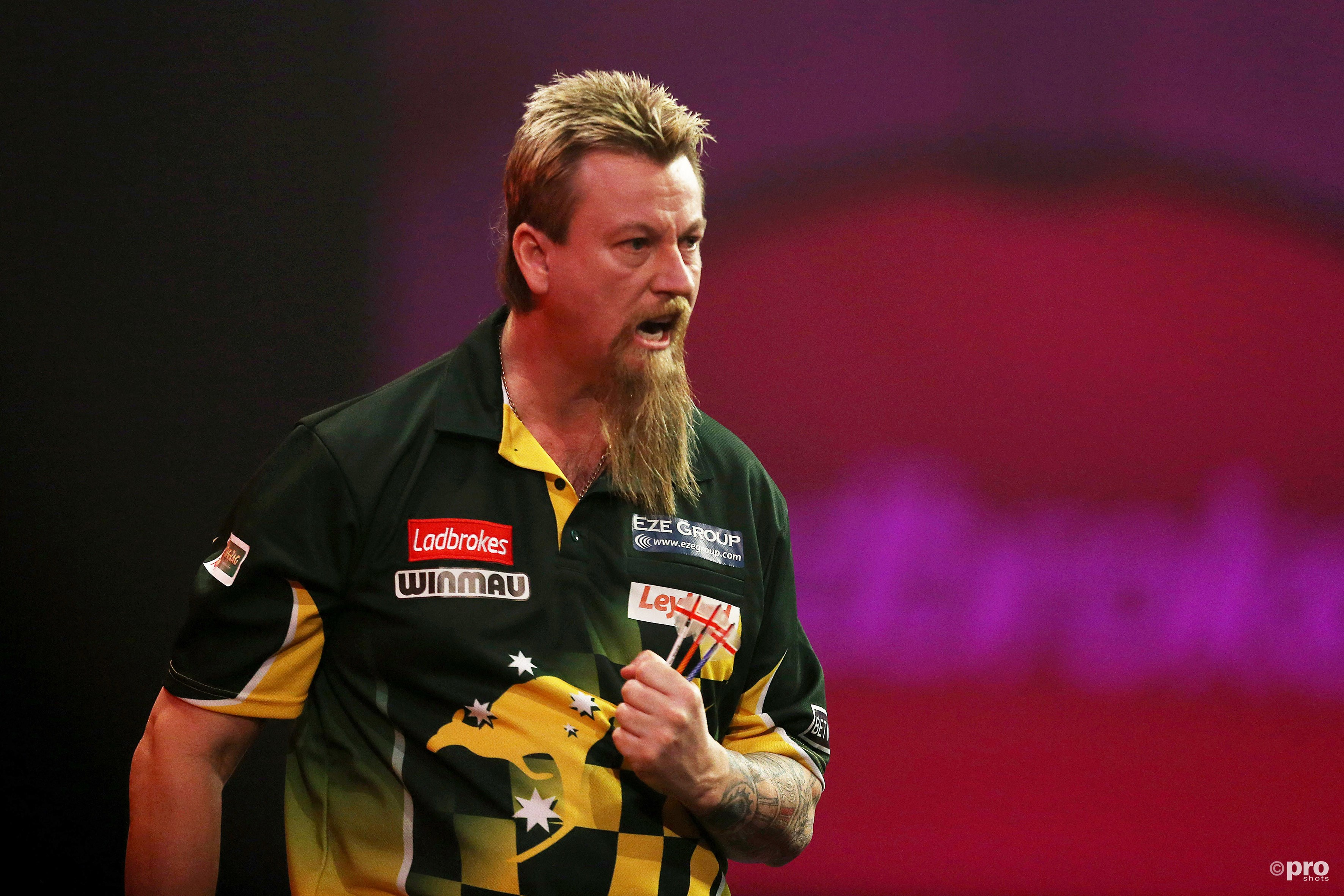 Simon Whitlock goed op dreef in 2017. (PRO SHOTS/Action Images)