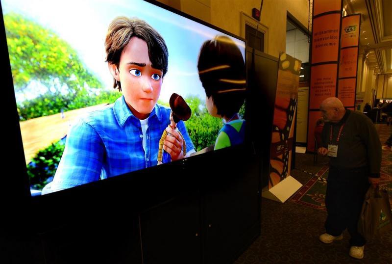 Een op twee huishoudens heeft smart-tv