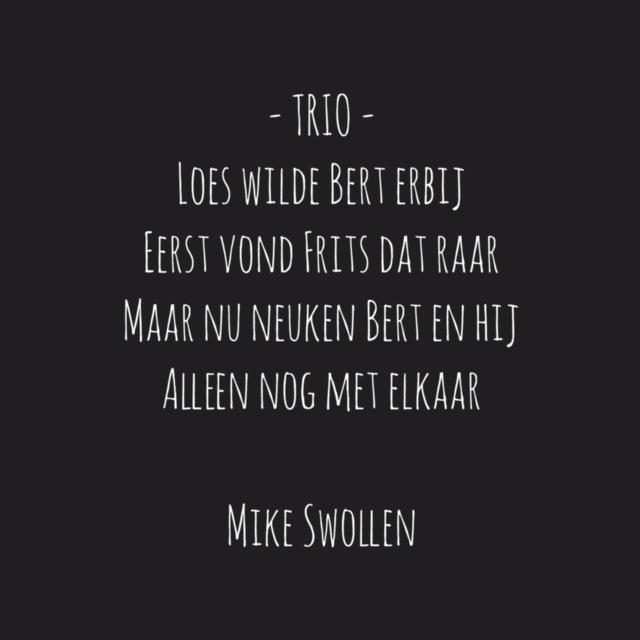 Swollinski gedicht trio