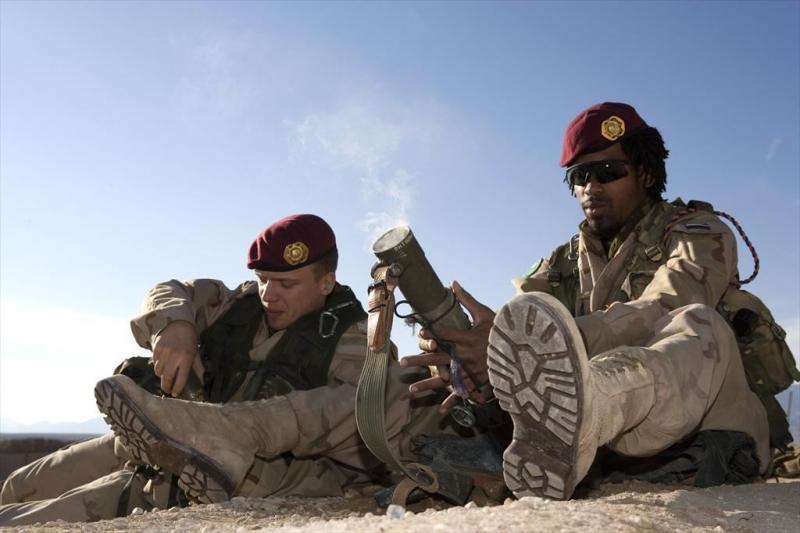Militairen schieten per ongeluk wapens af