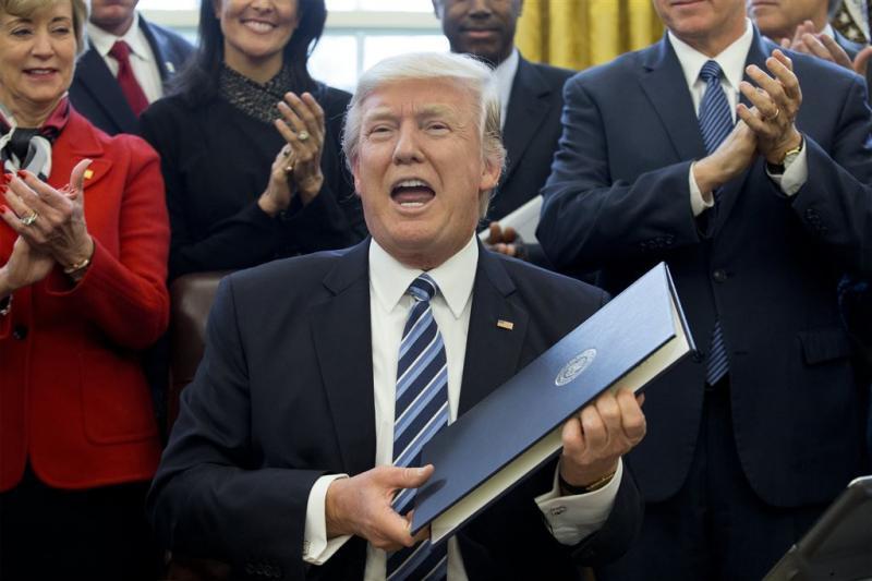 'Trump betaalde 35 miljoen aan belasting'