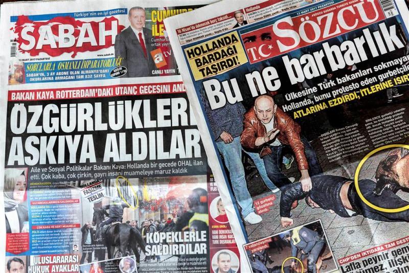 Snelrecht en boetes voor Turkse relschoppers