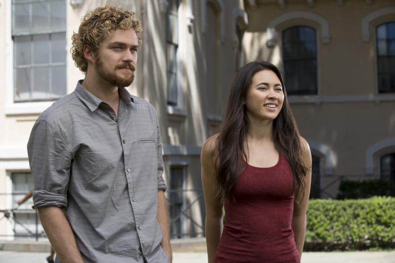 Iron Fist: Finn Jones en Jessica Henwick