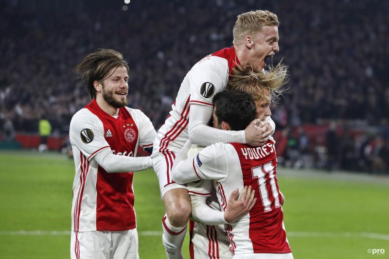 Sterk Ajax gunt Kopenhagen geen kans (Foto: Pro Shots/Stanley Gontha)