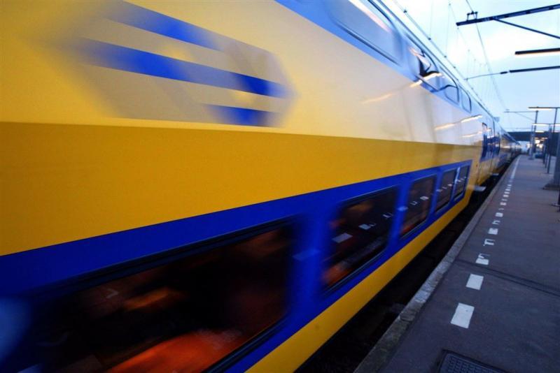 Wagon rijdende intercity schiet los