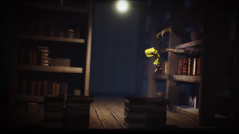 Little Nightmares - Bibliotheek (Foto: Bandai Namco)