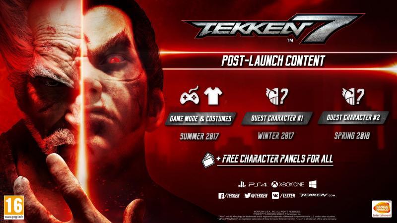 Tekken 7 DLC-plan (Foto: Bandai Namco)