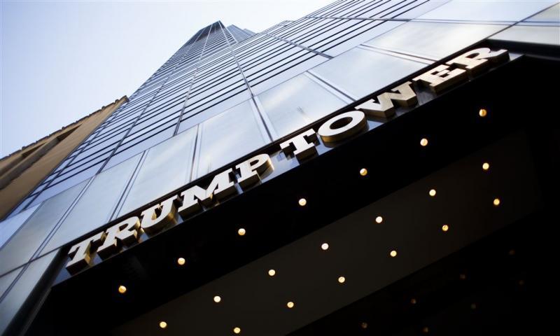 Laptop met plattegrond Trump Tower gestolen