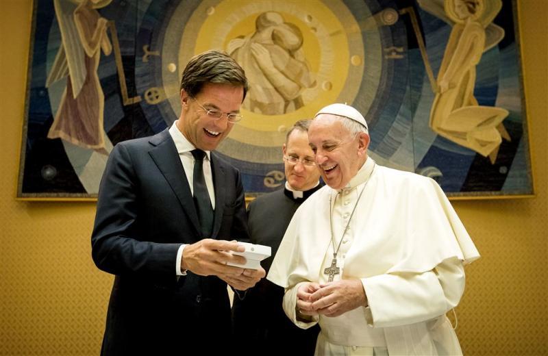 Rutte opnieuw op bezoek bij de paus