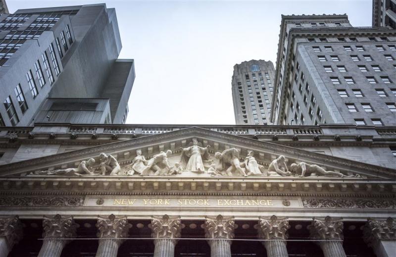 Vlakke opening op Wall Street