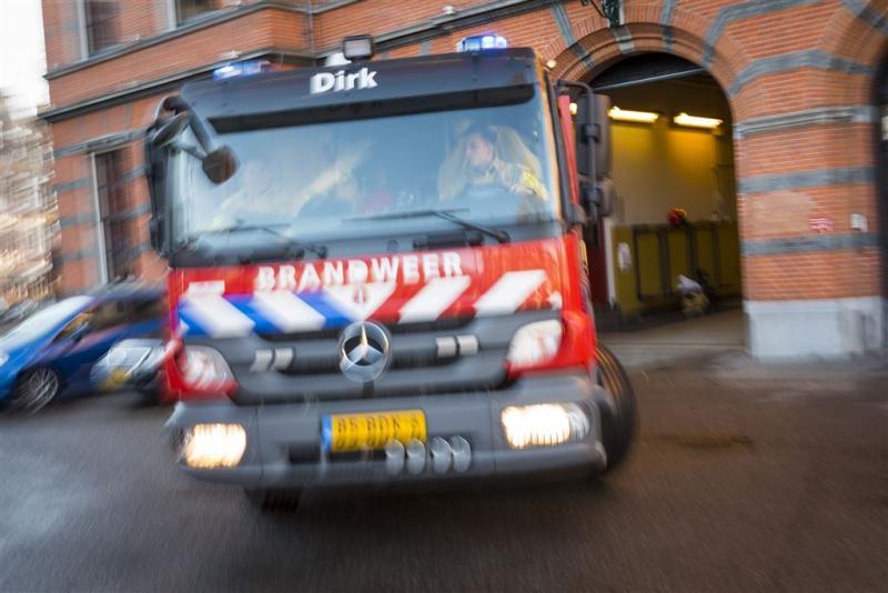 Grote brand in bedrijfsgebouw Aalst