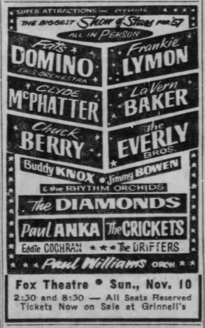 Biggest Show of Stars for 1957