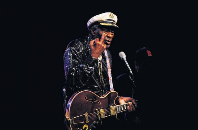 Chuck Berry in Leeuwarden in 2008